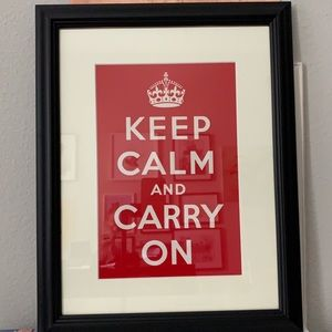 Imperial War Museum Keep Calm and Carry on frame